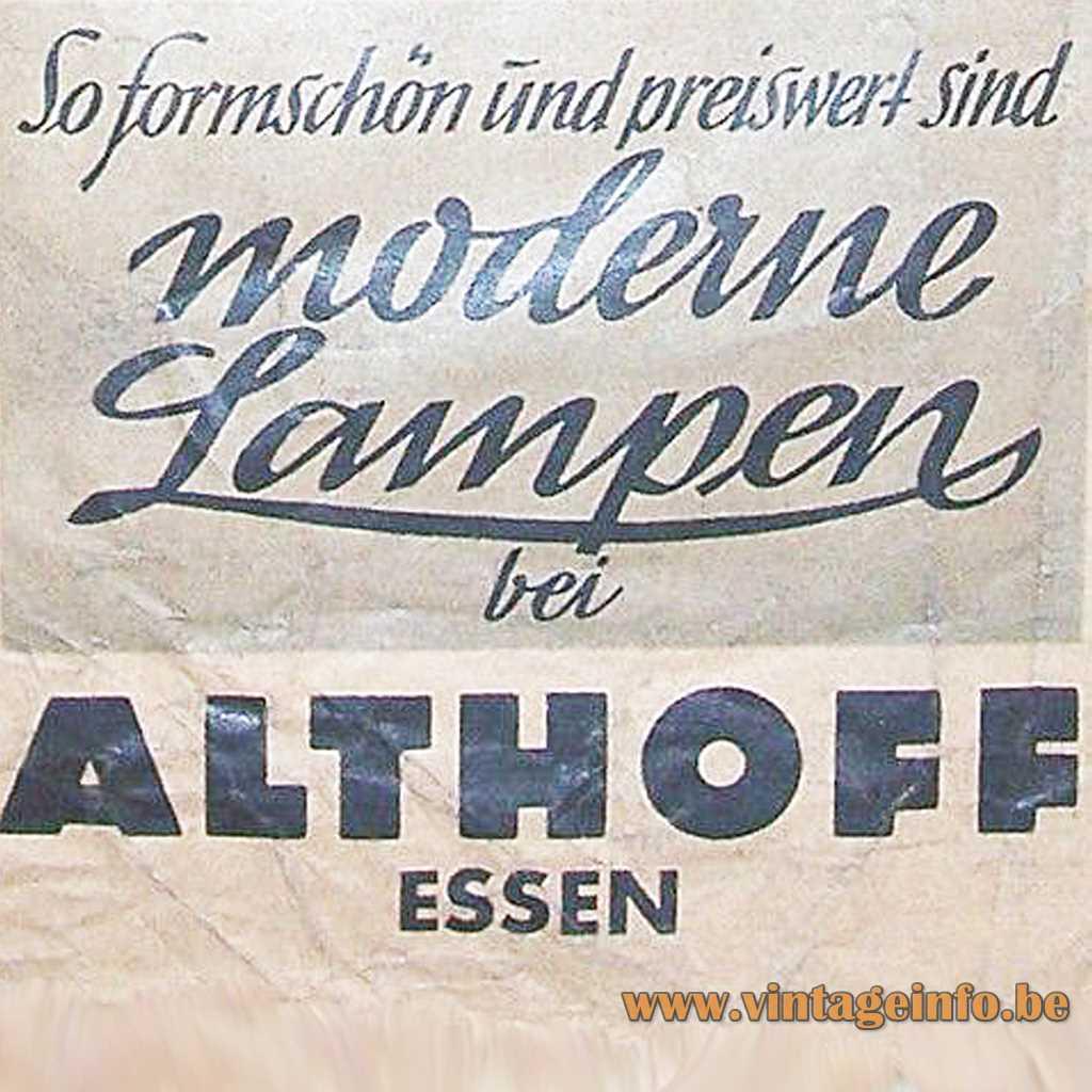 Althoff Essen logo