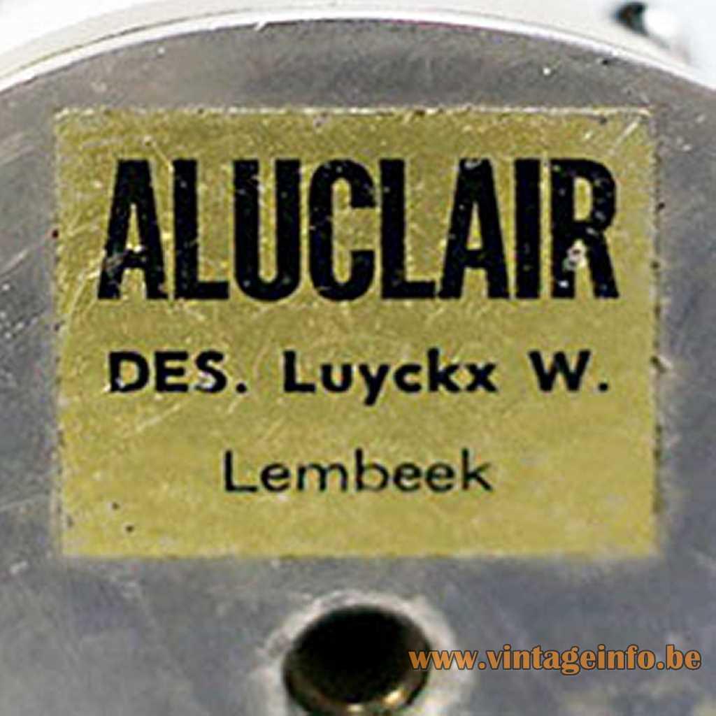 Aluclair label