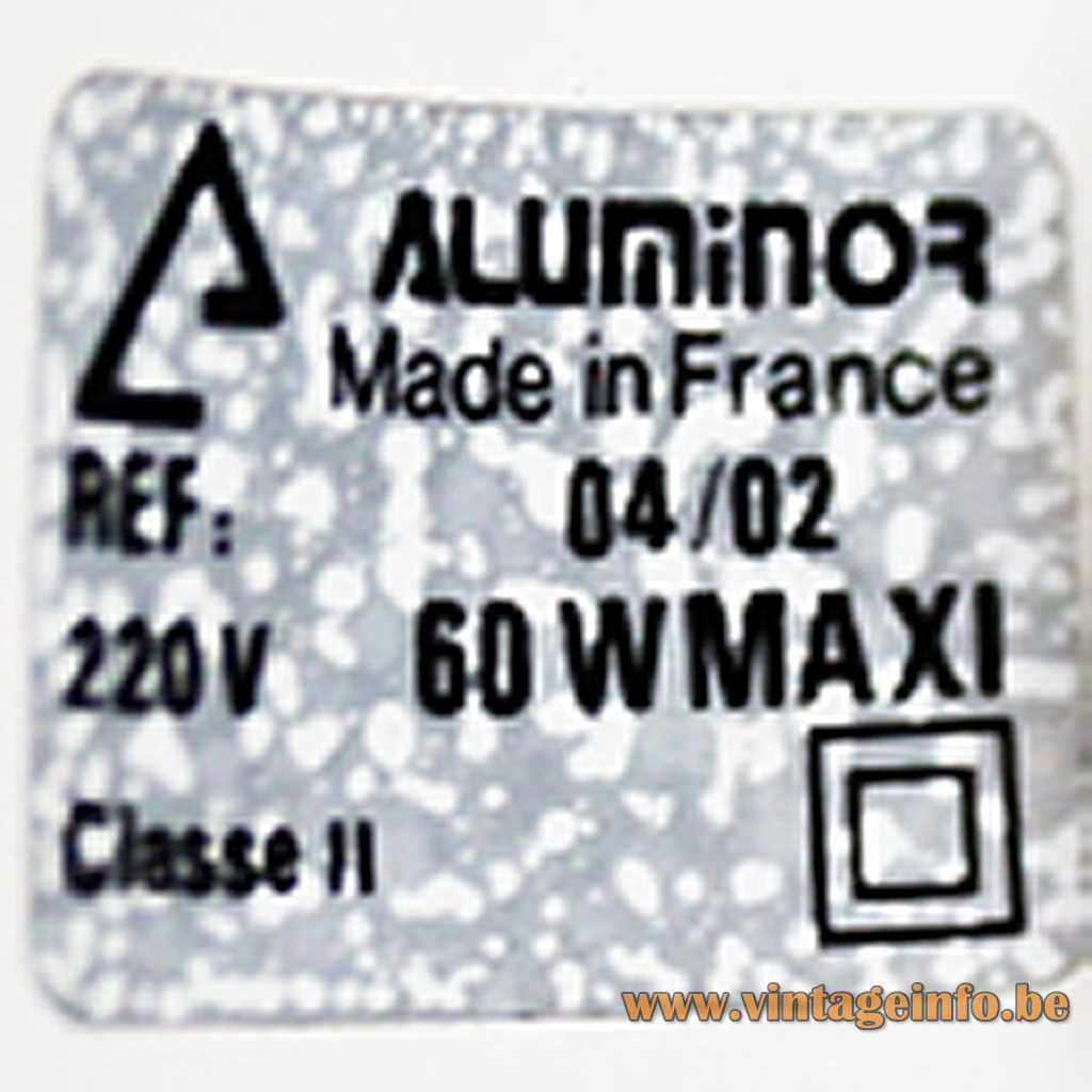 Aluminor label