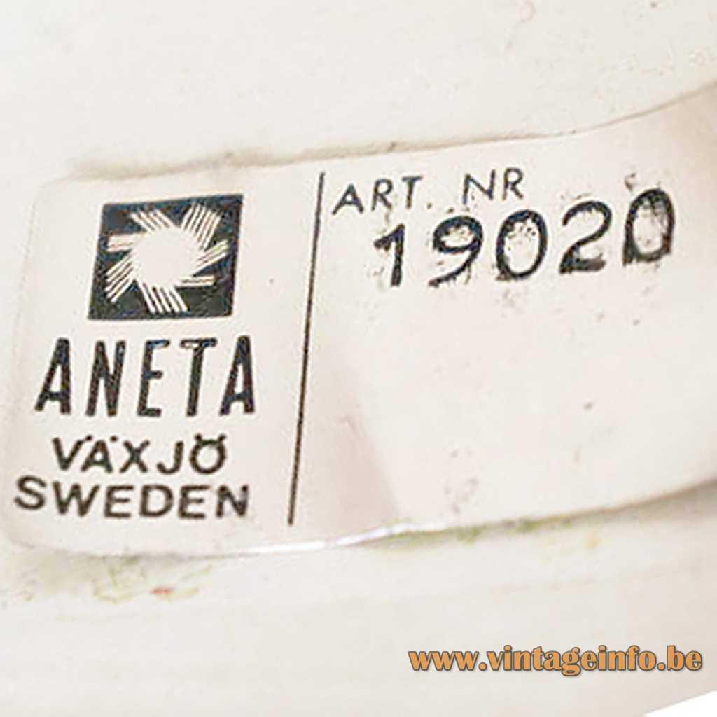 Aneta Belysning AB label