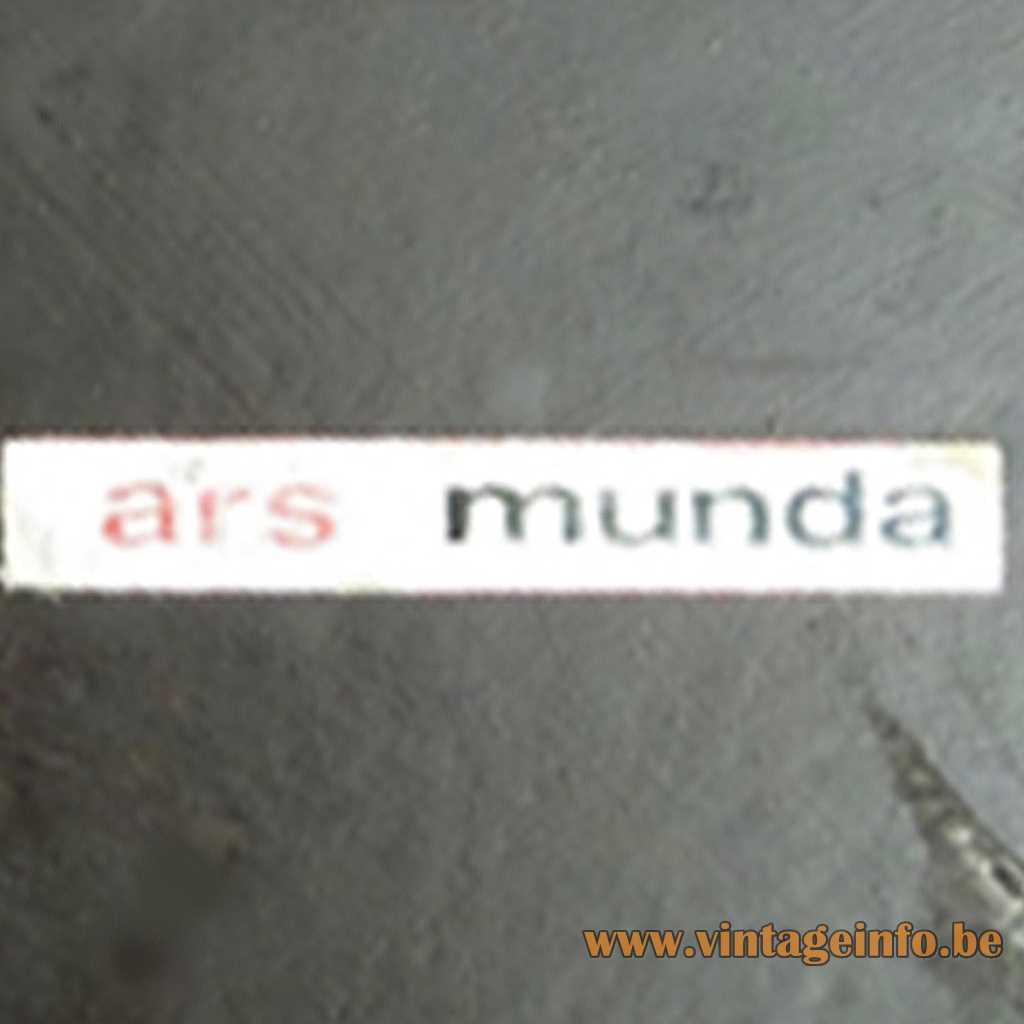 Ars Munda label