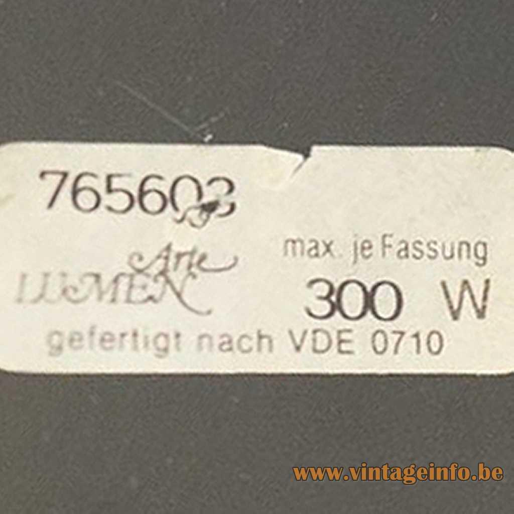 Arte Lumen label