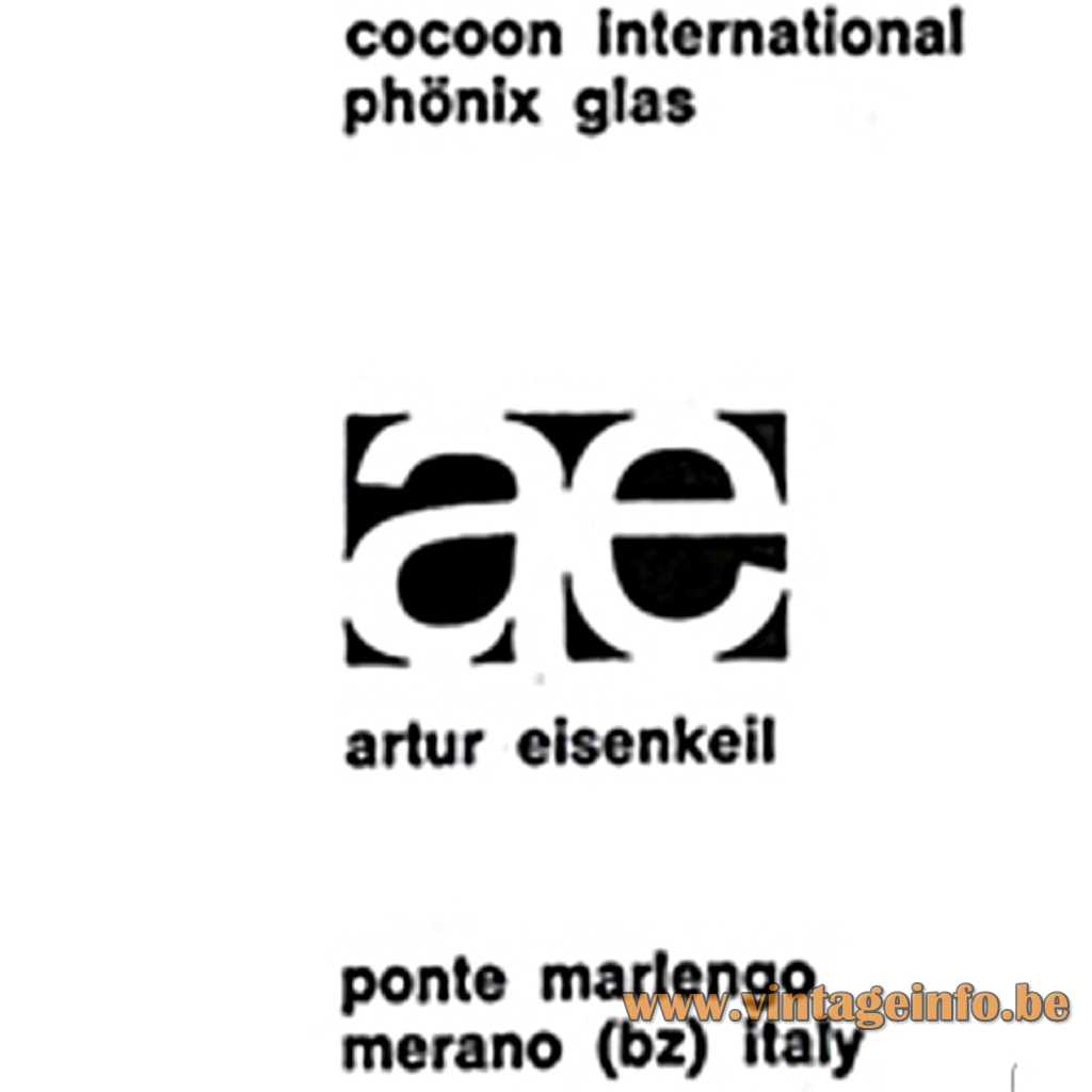 Arthur Eisenkeil - Cocoon International label
