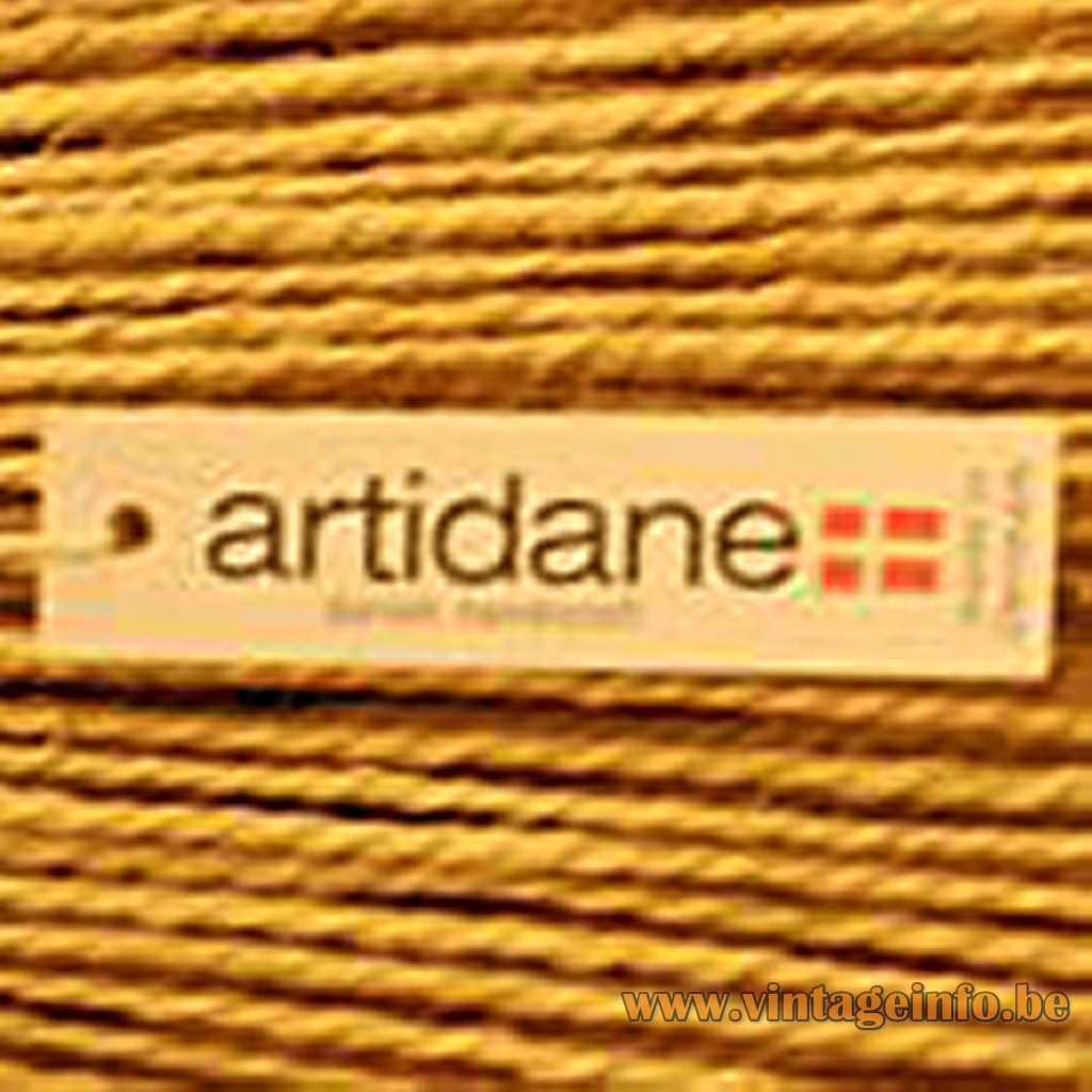 Artidane Denmark label