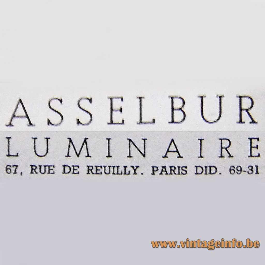 Asselbur Luminaire Paris, France logo