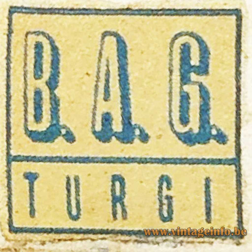 B.A.G. Turgi label