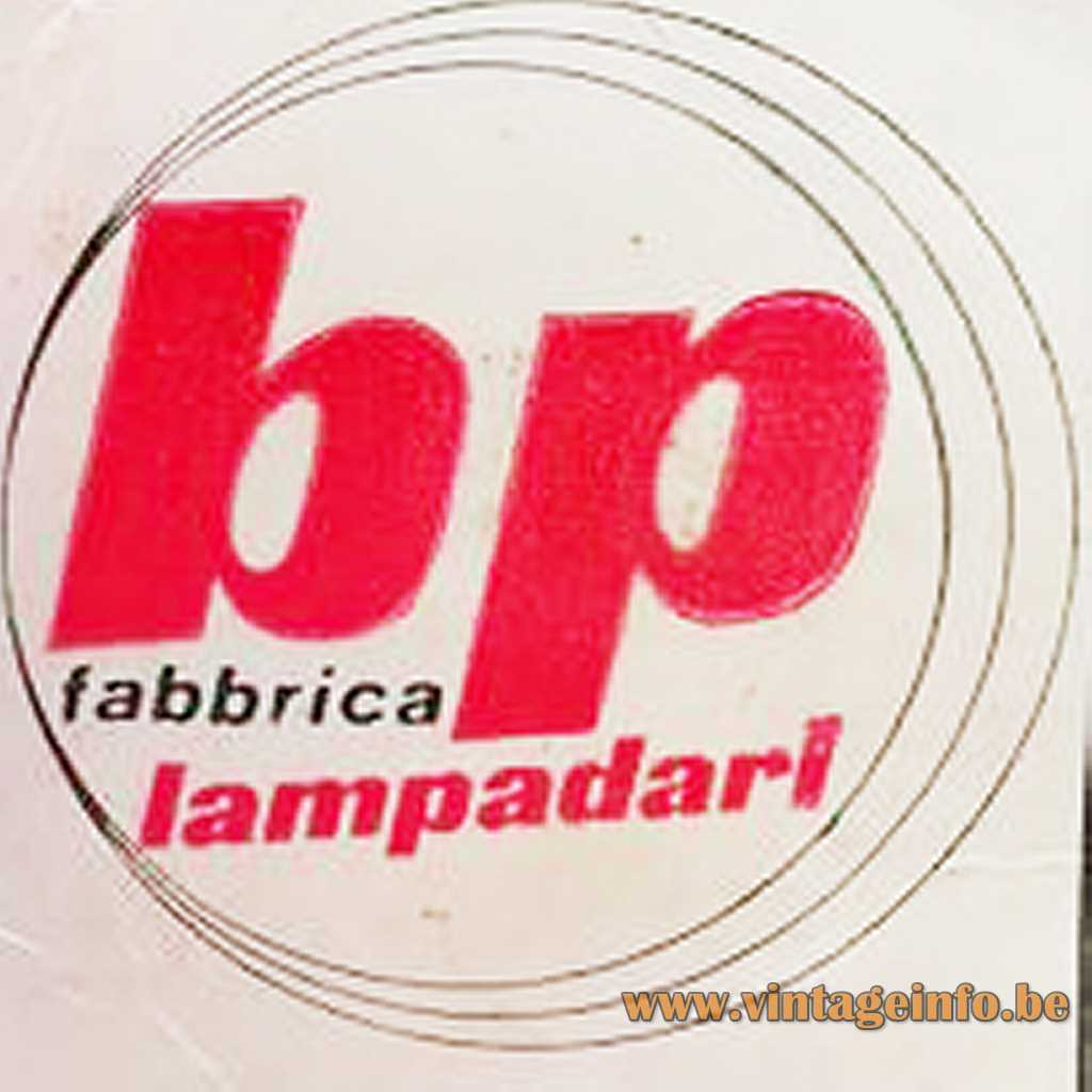 BP lampadari Nord S.R.L label