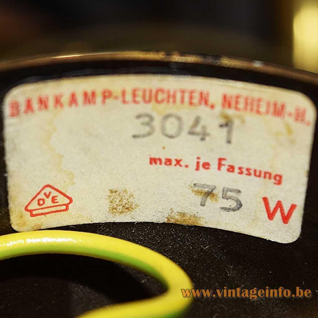 Bankamp Leuchten label