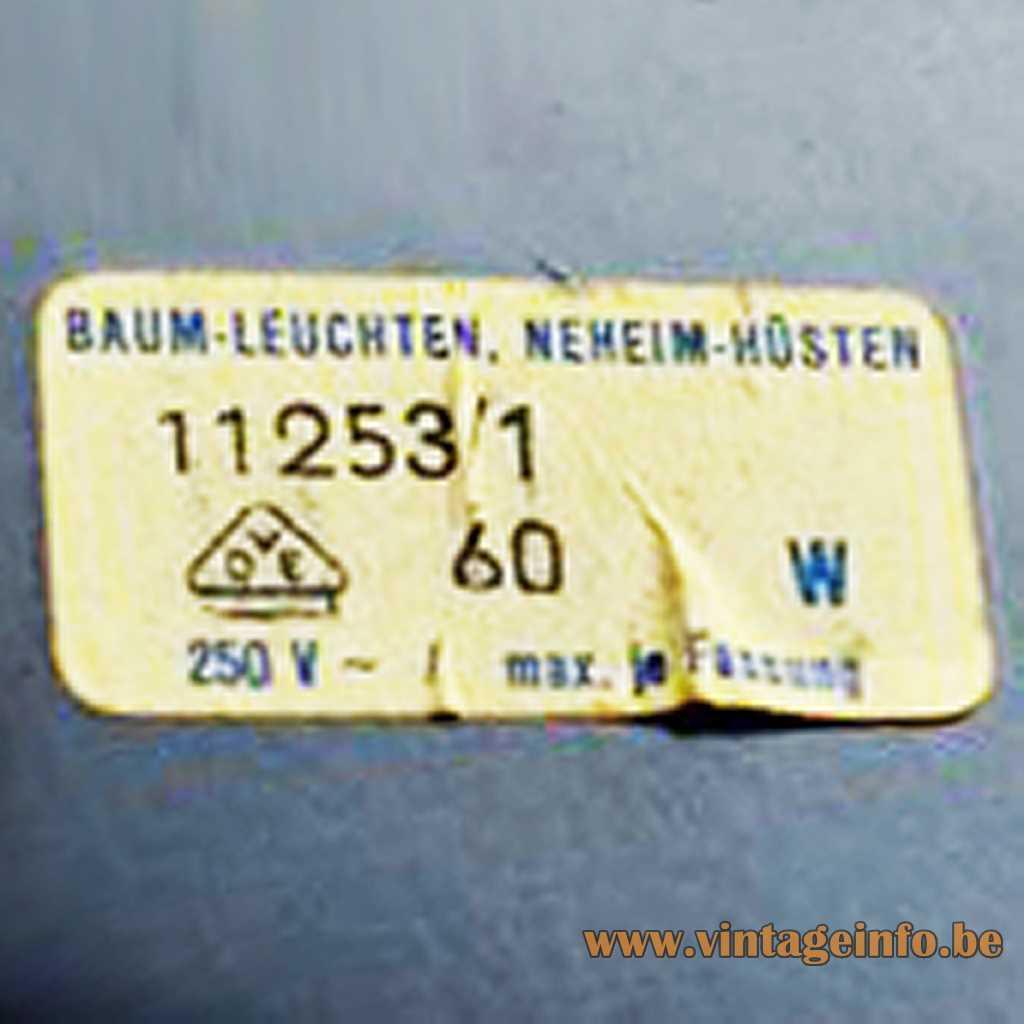 Baum-Leuchten label