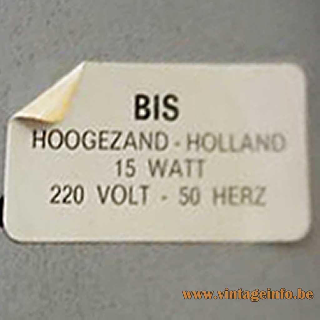 Bis Hoogezand label