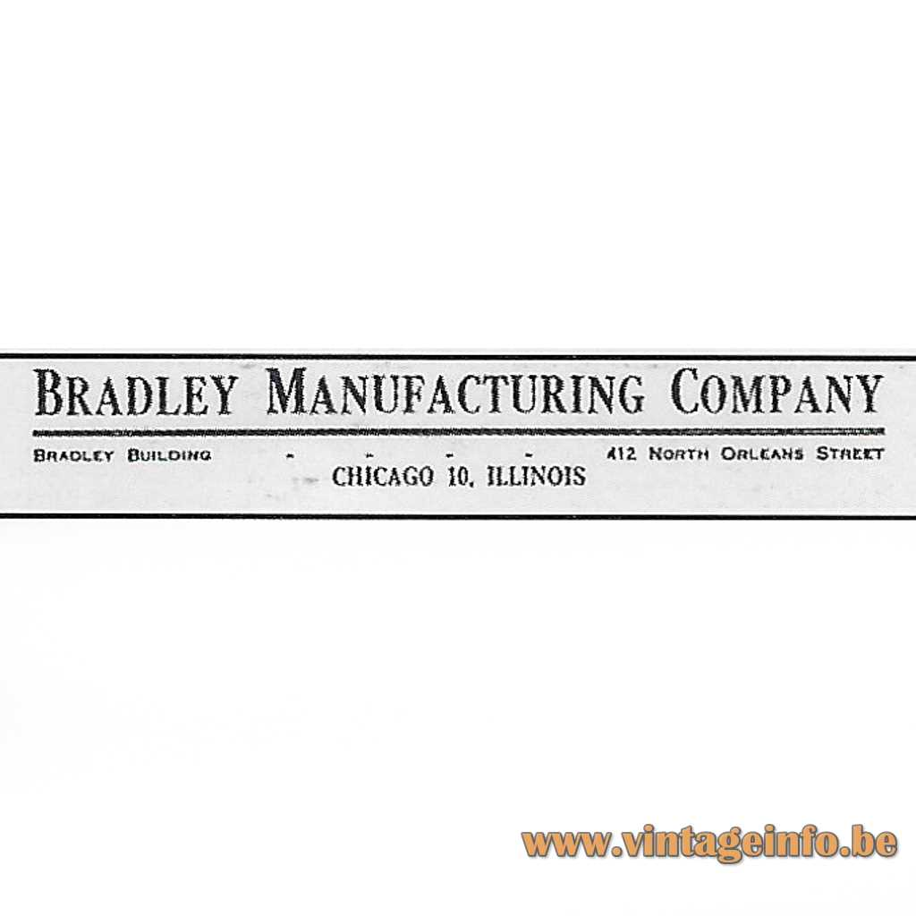 Bradley Manufacturing Company logo
