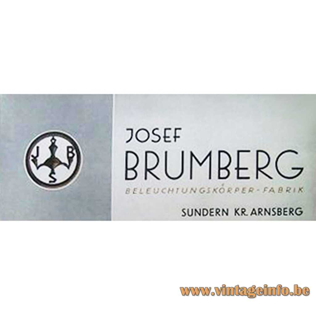 Brumberg Beleuchtungskörperfabrik label - logo