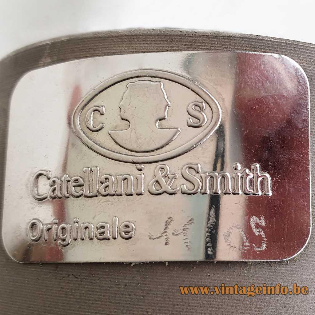 Catellani & Smith Metal Label