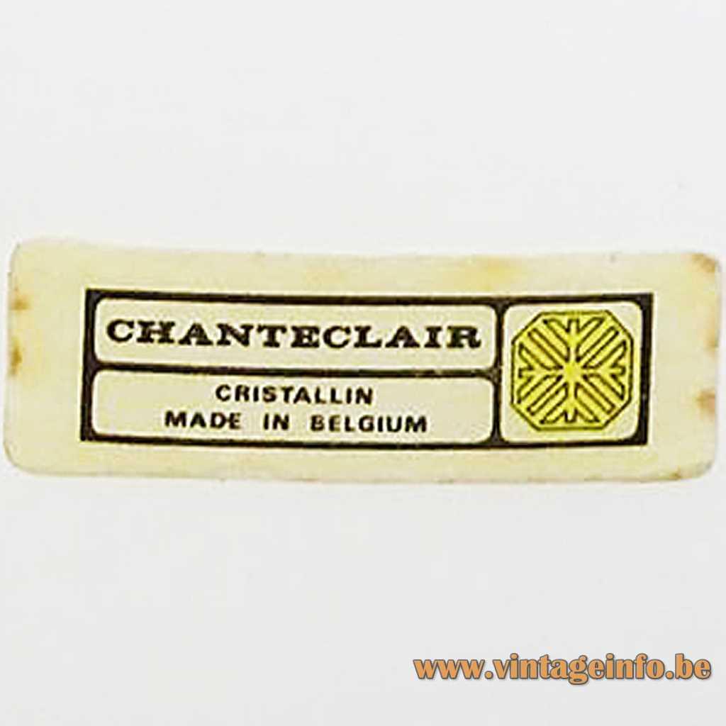 Chanteclair Belgium Label
