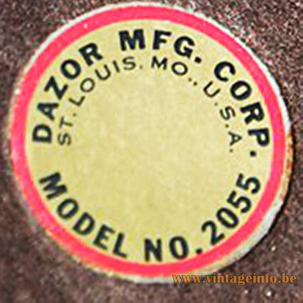 Dazor label