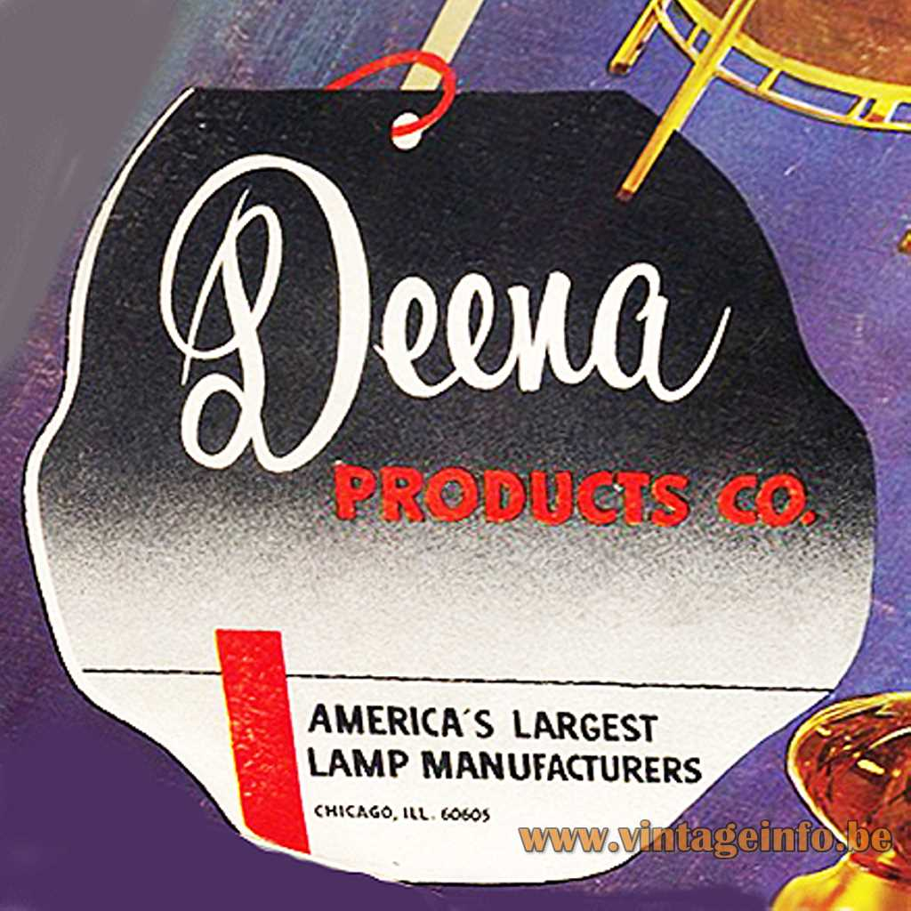 Deena Products co. label