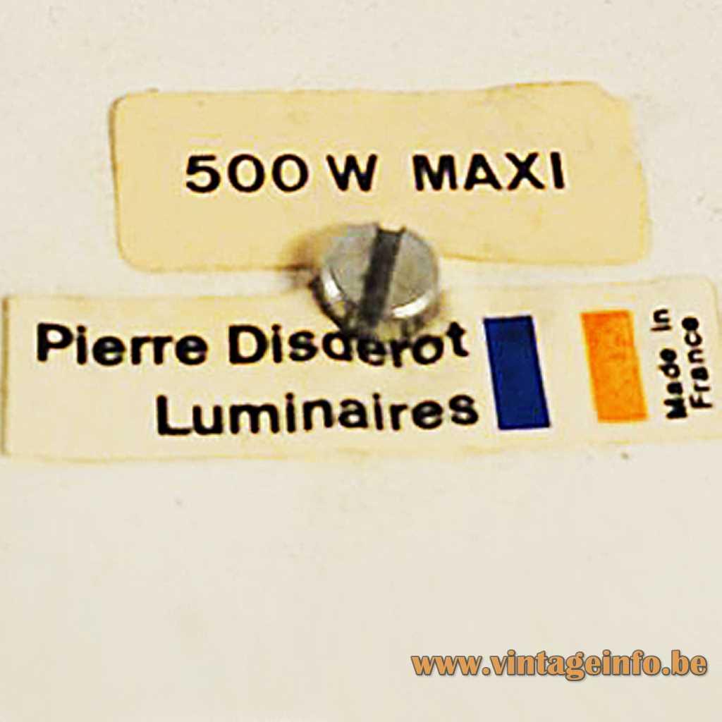 Disderot label