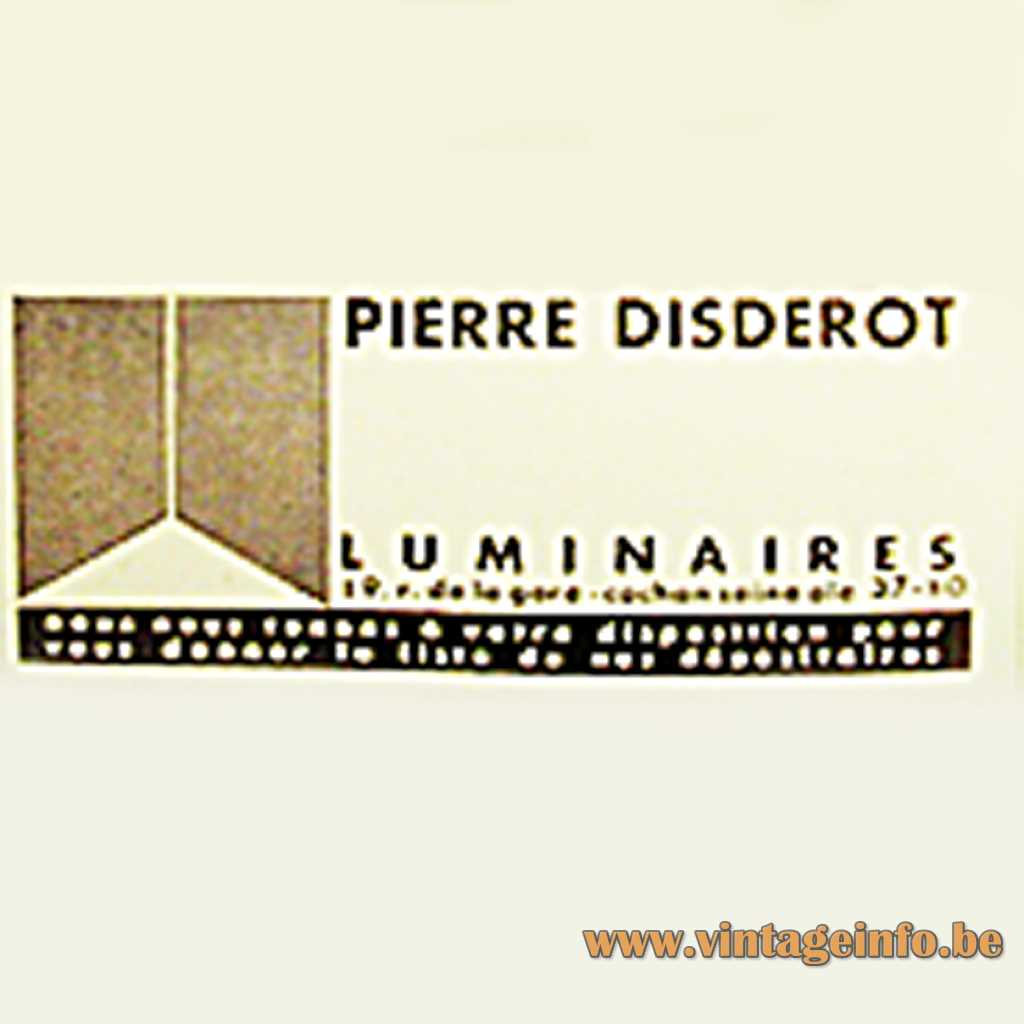 Disderot logo print