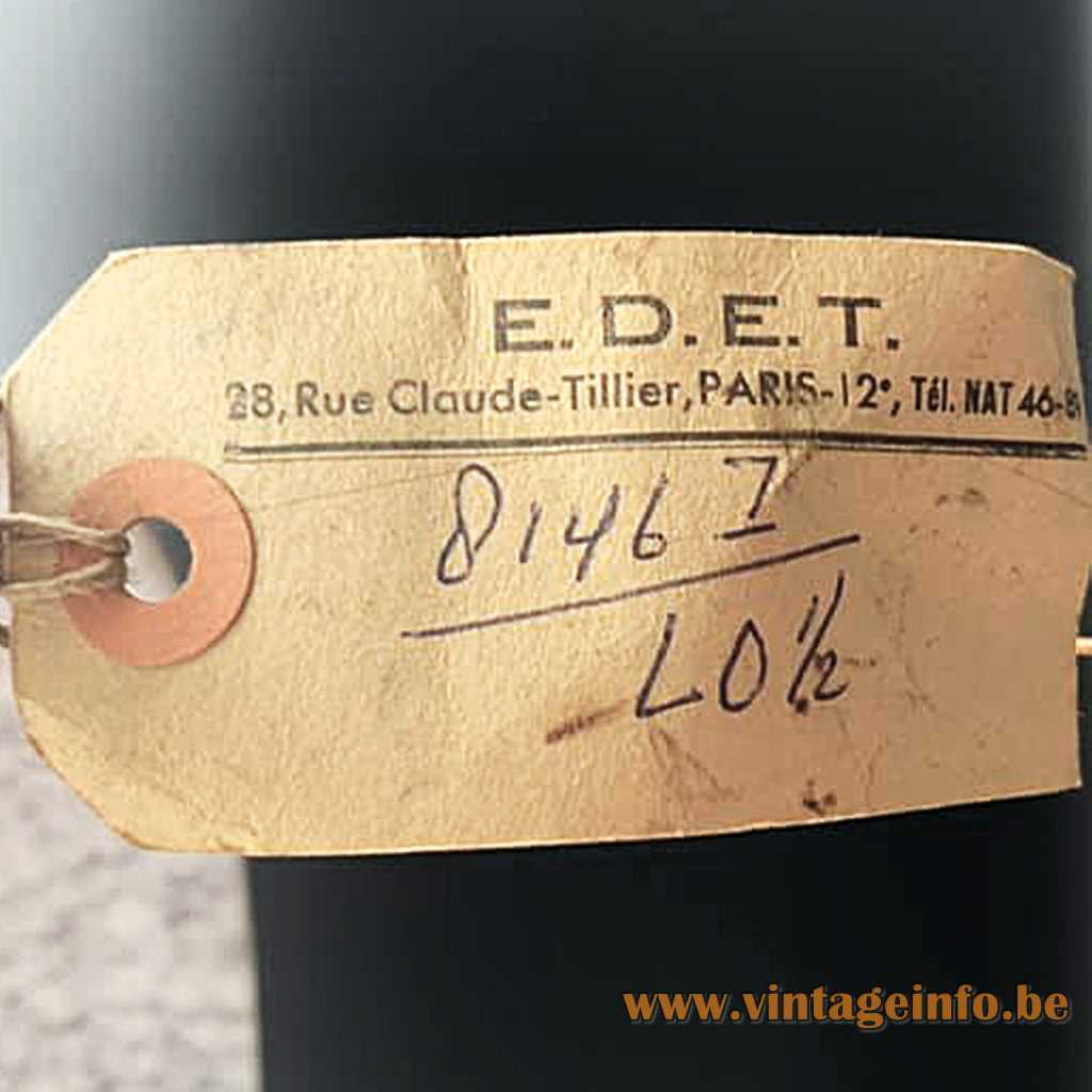 E.D.E.T. Paris label