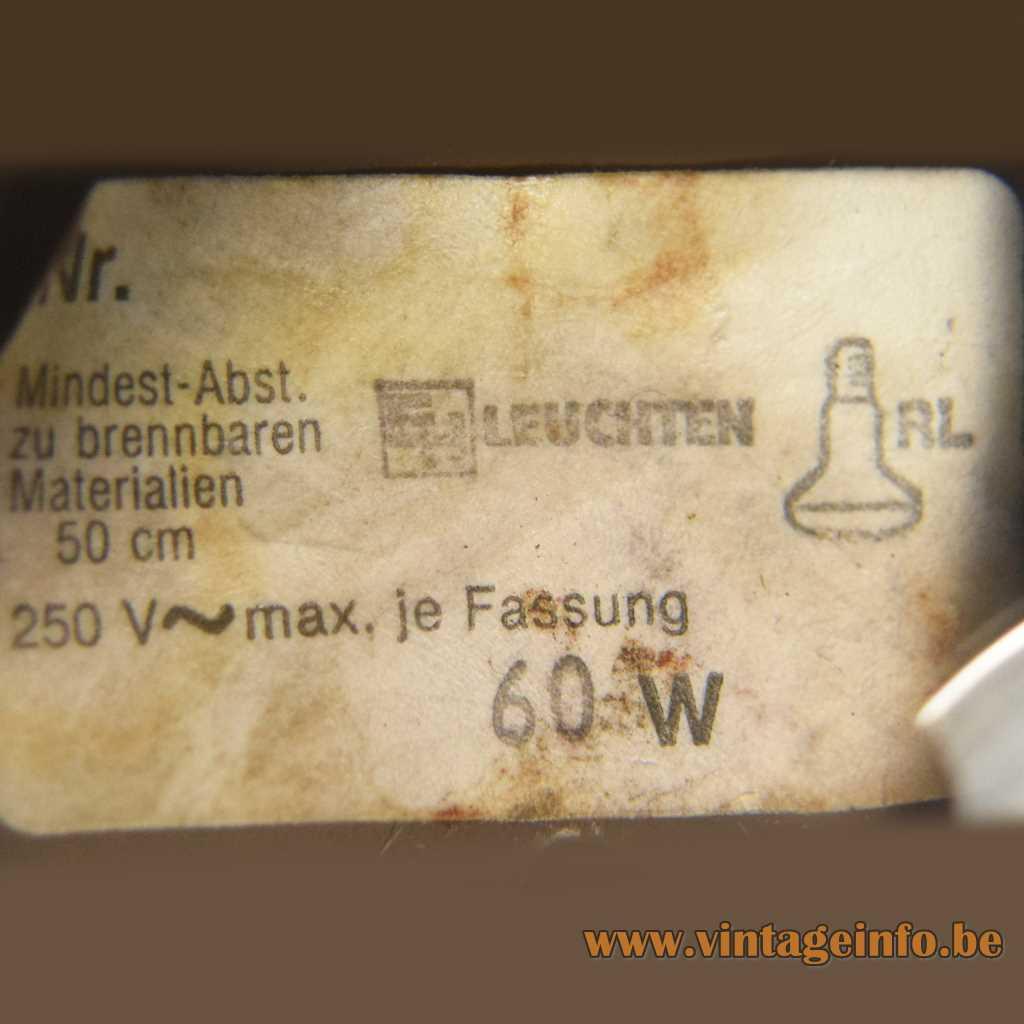 EH Leuchten label