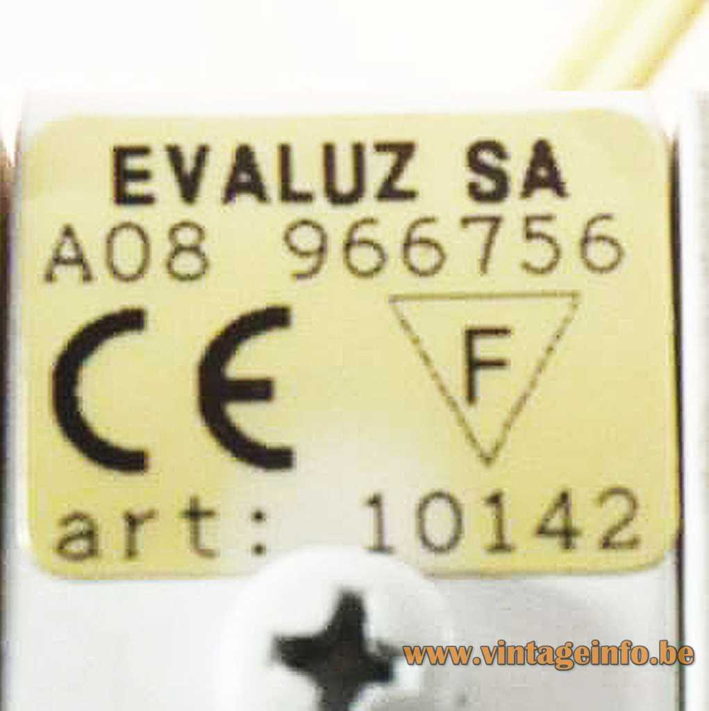 Evaluz label