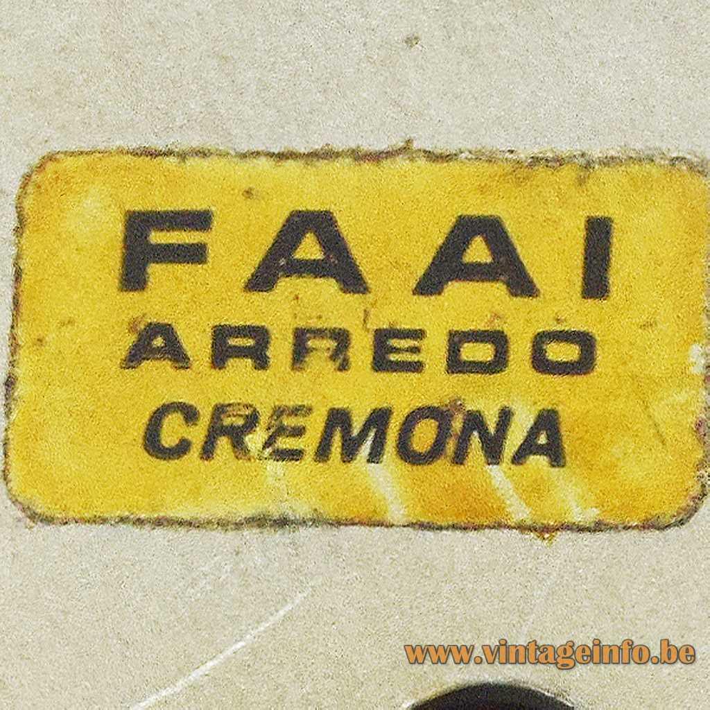 F.A.A.I. Arredo Cremona, Italy label