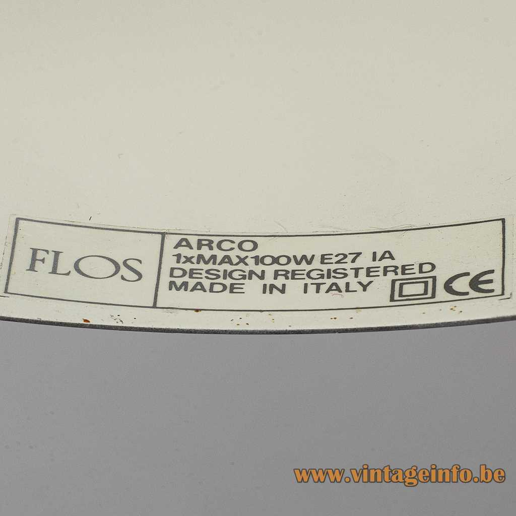FLOS label