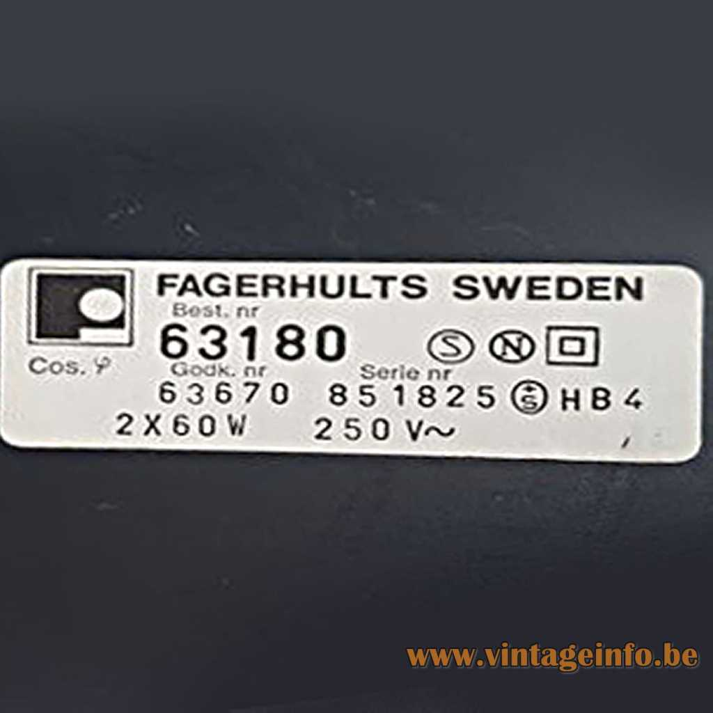 Fagerhults label