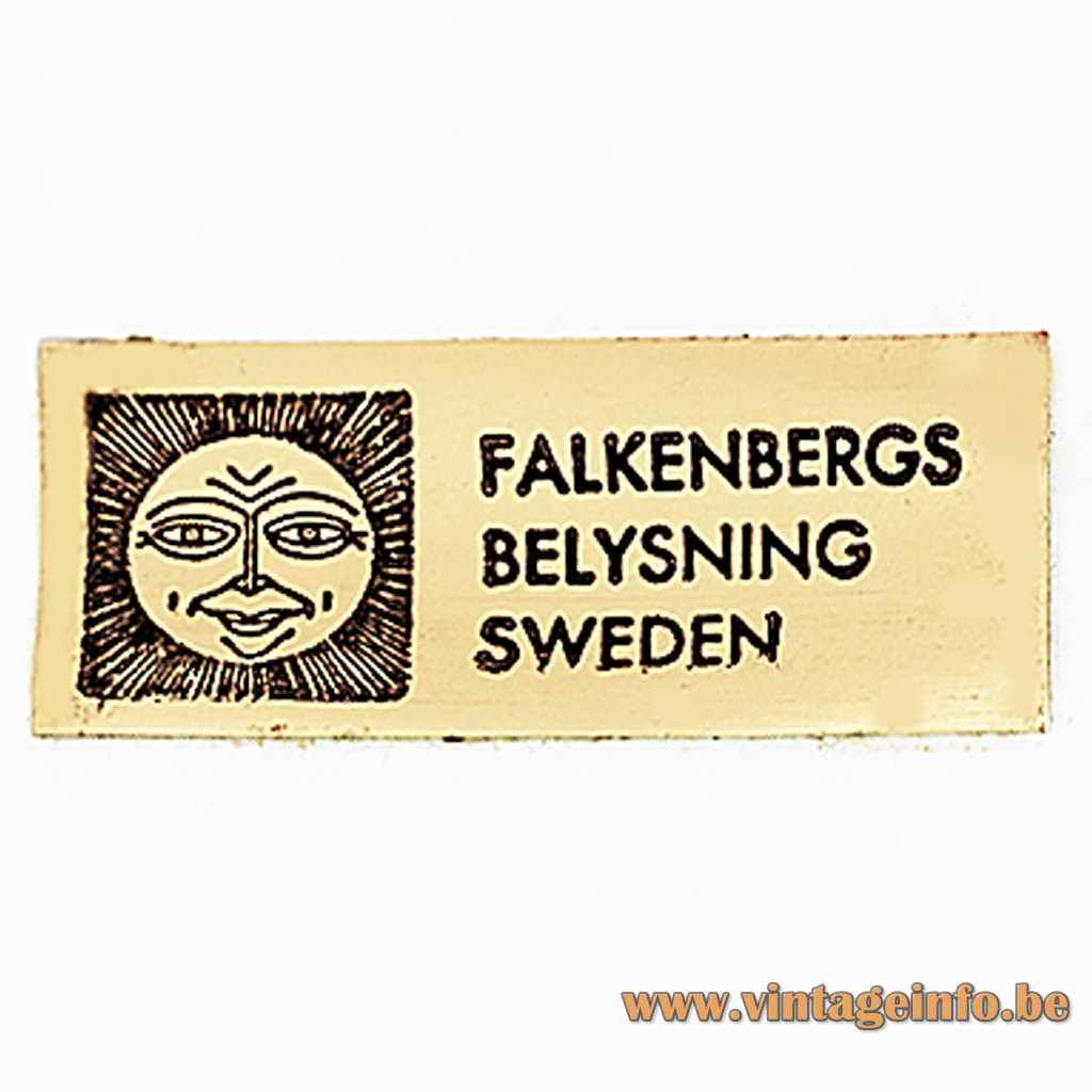 Falkenbergs Belysning label