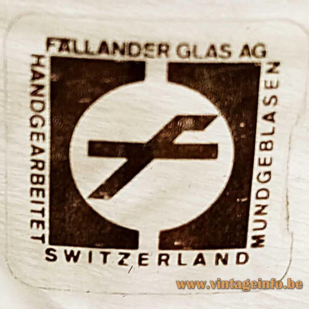 Fallander Glas AG label