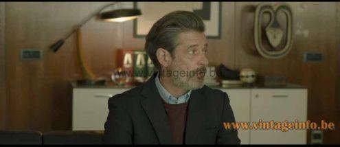 Fase President desk lamp used as a prop in the 2020 film Ofrenda A La Tormenta