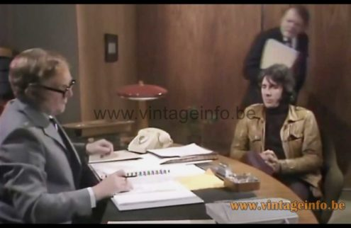 Fase President S/C desk lamp used as a prop in the 1973 TV series Man About The House