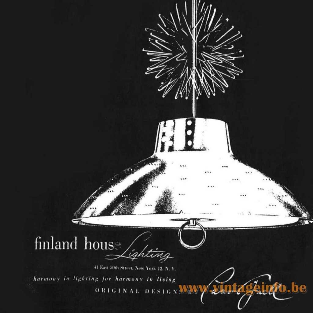 Finland House Lighting Catalogue logo