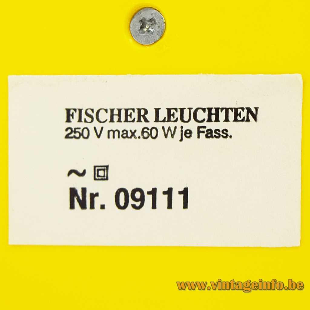 Fischer Leuchten label