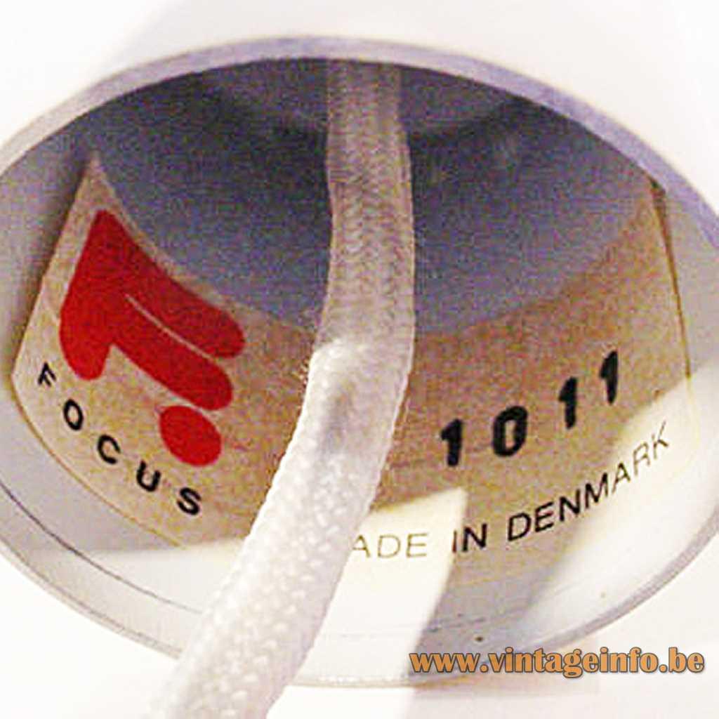 Focus Belysning label