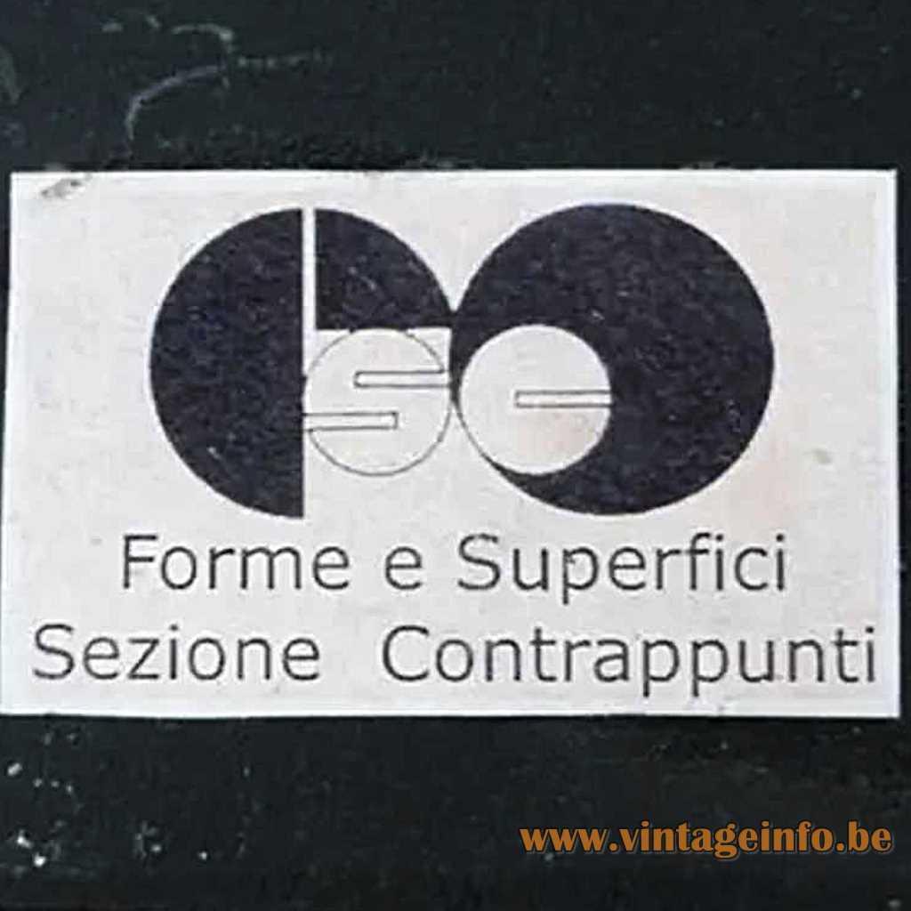 Form E Superfici label