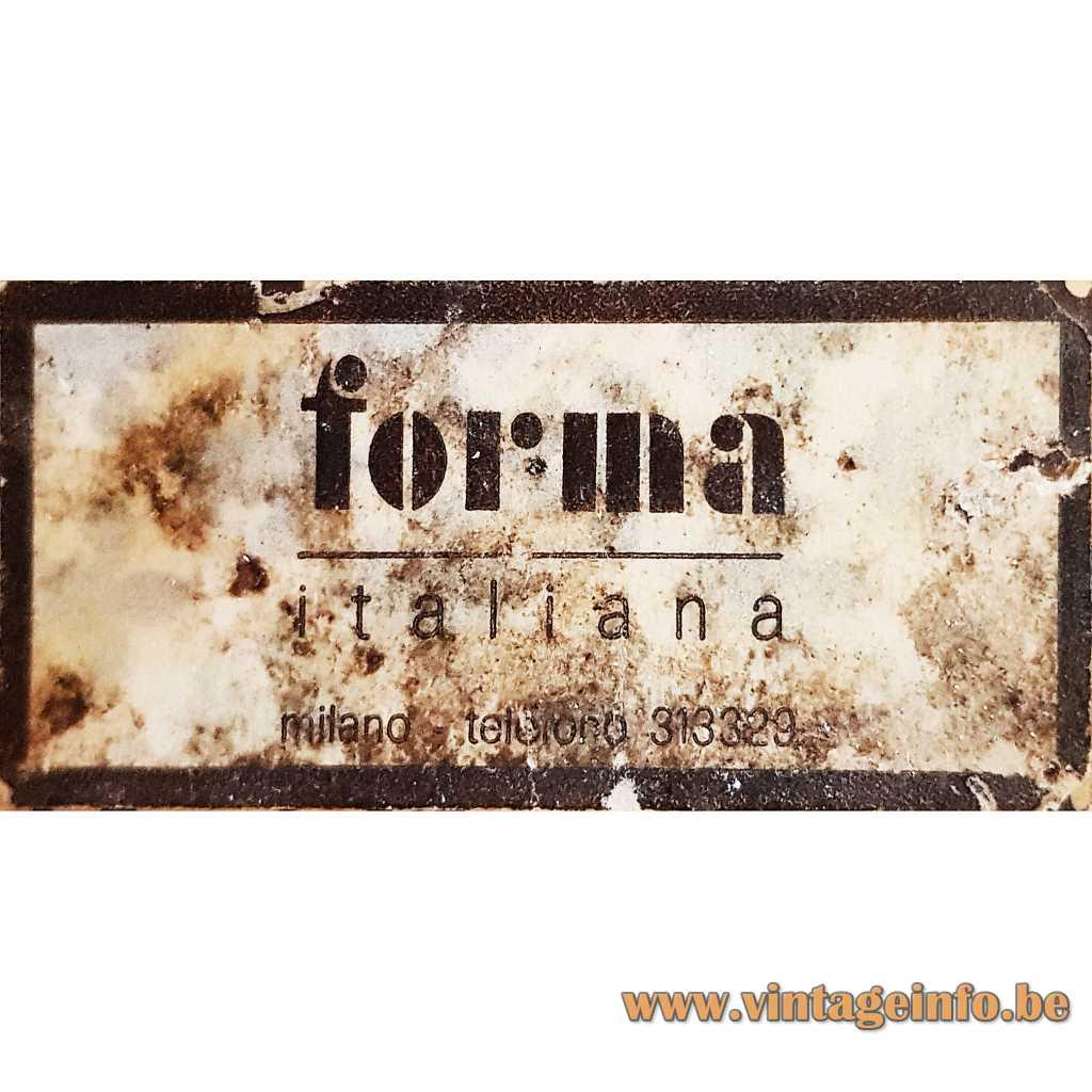 Forma Italiana label