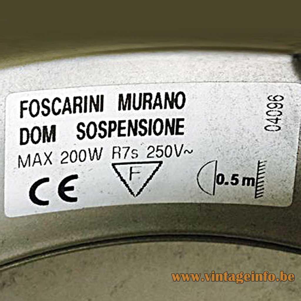 Foscarini label