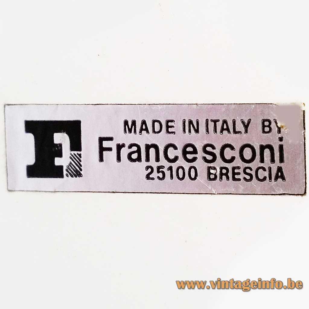 Francesconi Fratelli label