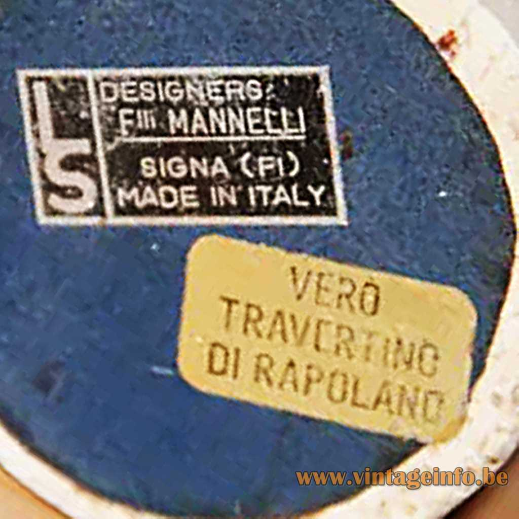 Fratelli Mannelli Signa label