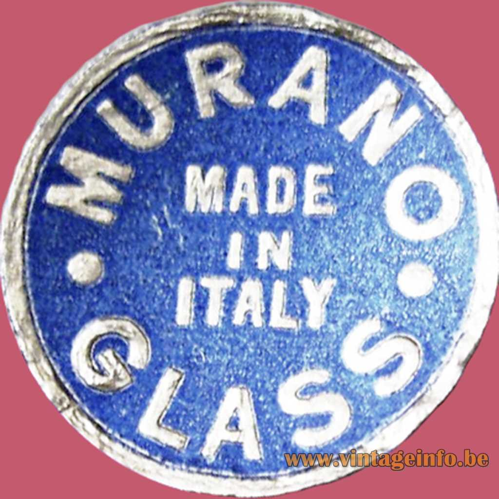 Fratelli Toso Murano Label