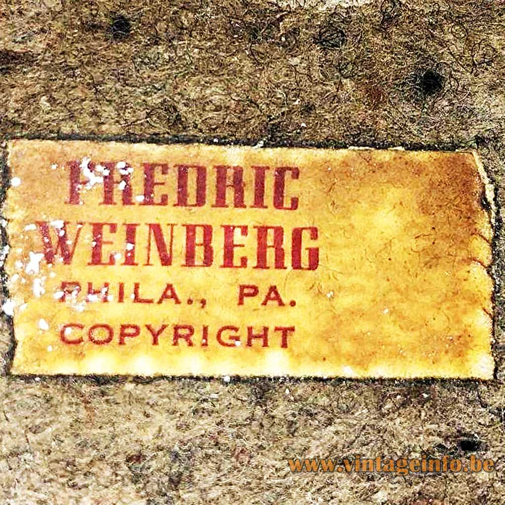 Frederick Weinberg label