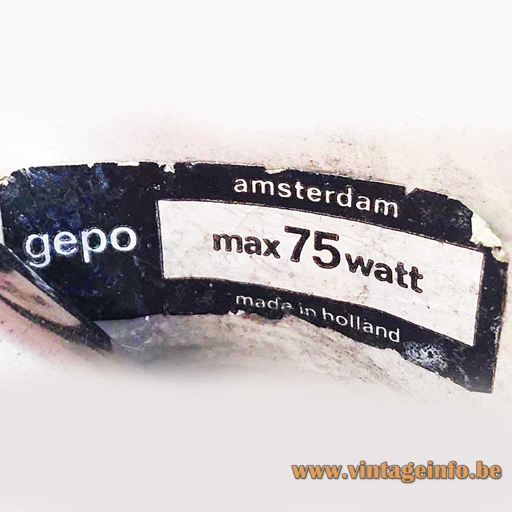 Gepo label
