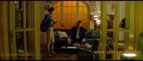 Hala style floor lamp used as a prop in the 2014 film The November Man