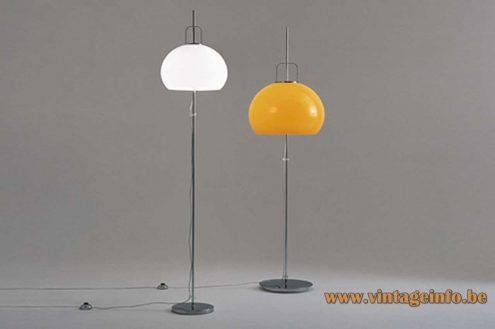 Harvey Guzzini Lucerna Floor lamp - 1968 Catalogue Pictures