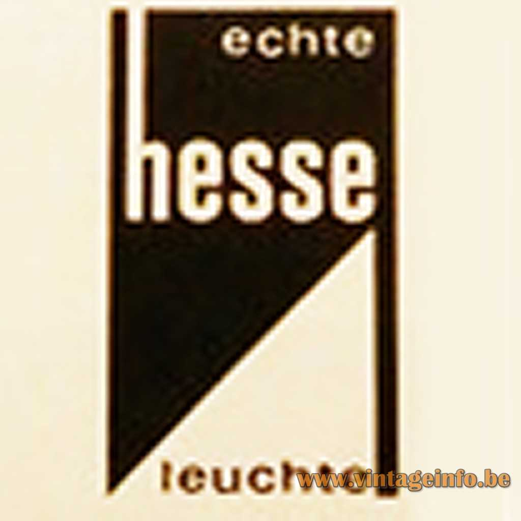 Hesse Leuchten KG Köln label