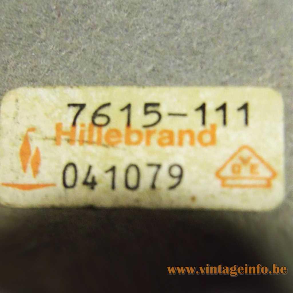 Hillebrand Label