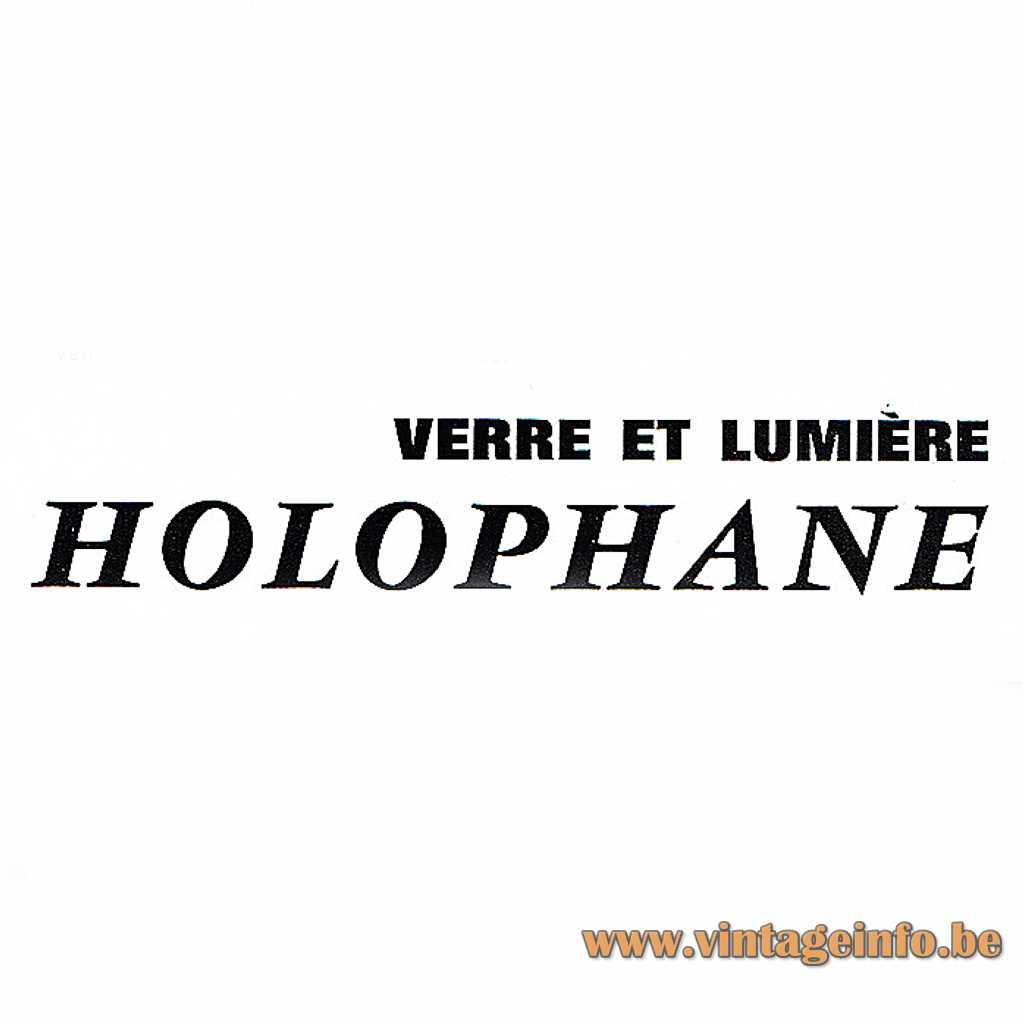 Holophane verre et lumière logo
