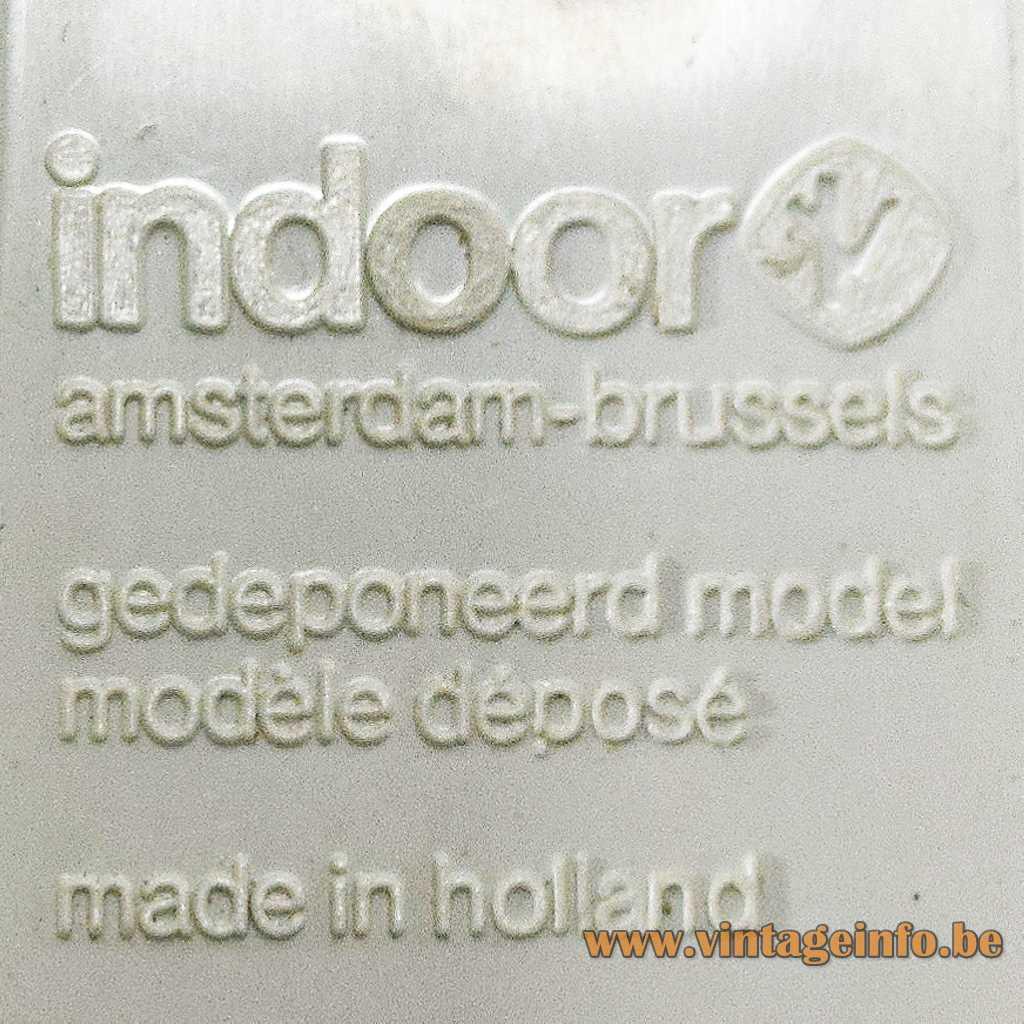 Indoor pressed label
