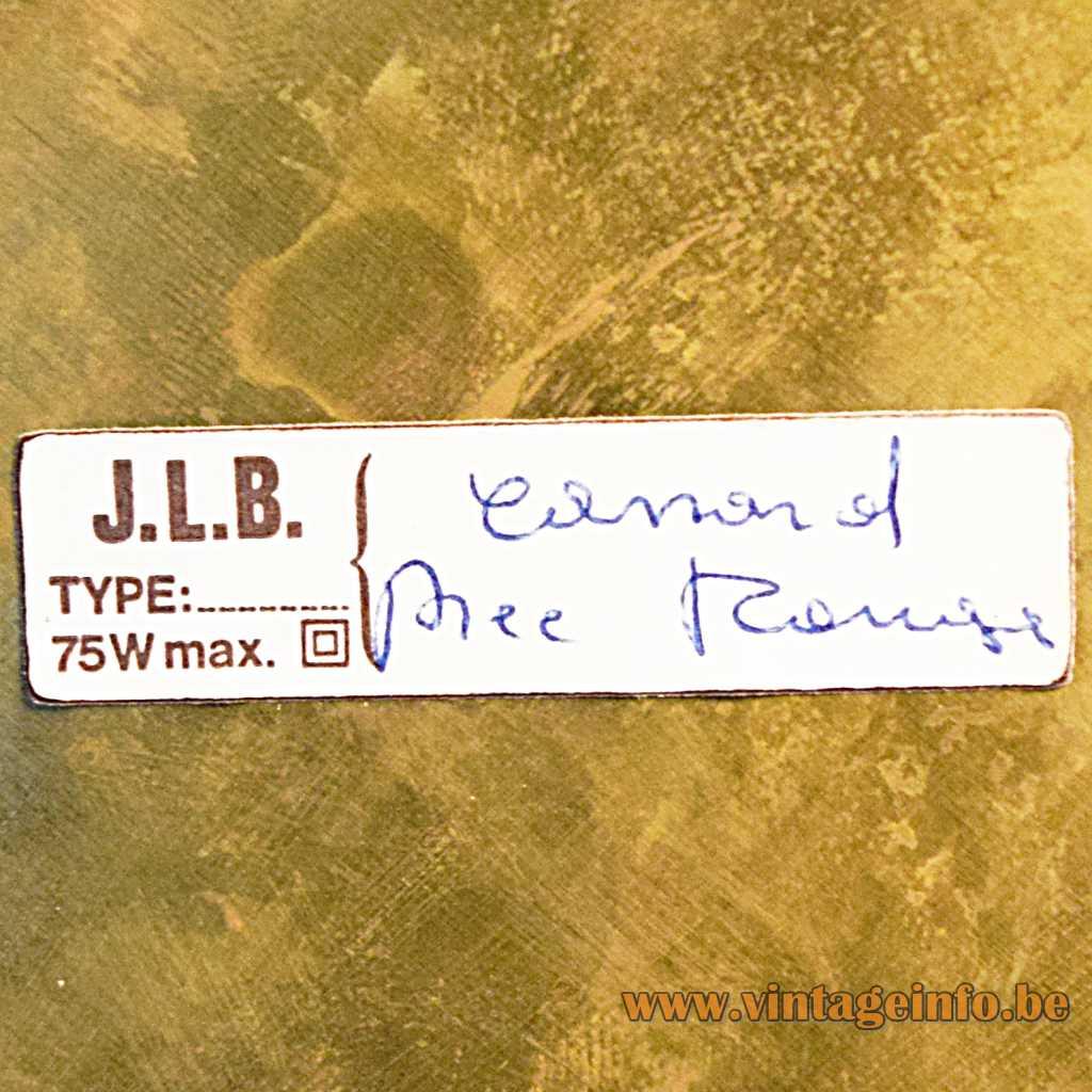 J.L.B. label